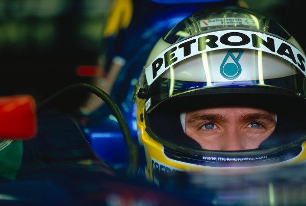 2002 San Marino Grand Prix.Imola, Italy.12-14 April 2002.Nick Heidfeld (Sauber Petronas).Ref-02 SM 40.World Copyright - LAT Photographic