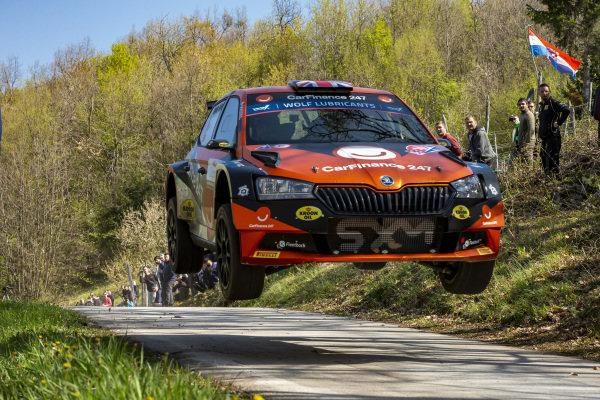 Chris Ingram (GBR), Skoda Fabia Rally2