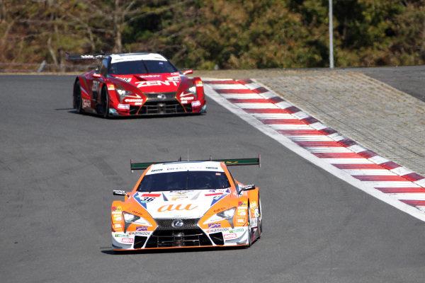 Yuhi Sekiguchi, Lexus Team TOM'S Lexus LC500.