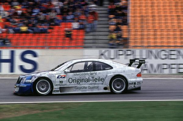 DTM Championship Hockenheim 28th May 2000, Hockenheim, GermanyPeter Dumbreck (Mercedes CLK) action.World - Hardwick/LAT