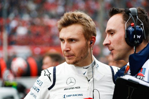 Sergey Sirotkin, Williams Martini Racing.