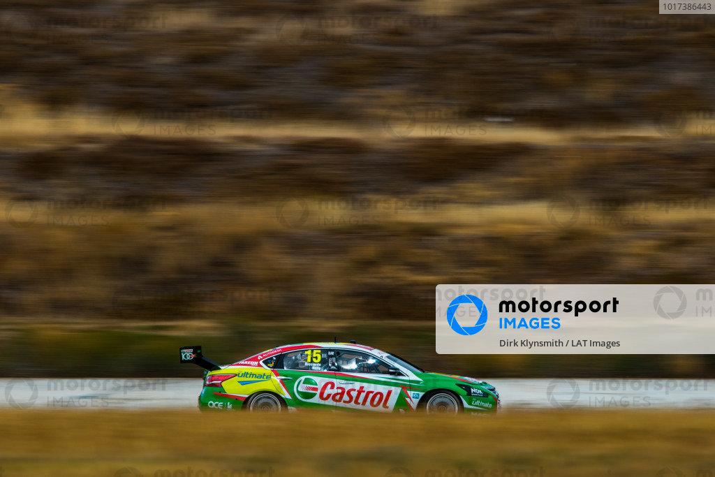 Daniel Ricciardo tests Kelly Racing Nissan Supercar at Calder