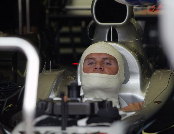2002 Belgian Grand Prix - PracticeSpa-Francorchamps, Belgium. 30th August 2002.David Coulthard (McLaren Mercedes).World Copyright: Steve Etherington/LATref: Digital Image Only