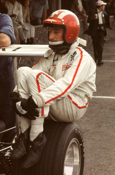 Formula One World Championship.Jo Siffert.World Copyright - LAT Photogarphic