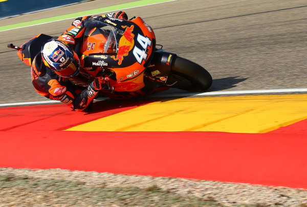 2017 Moto2 Championship - Round 14 Aragon, Spain. Saturday 23 September 2017 Miguel Oliveira, Red Bull KTM Ajo World Copyright: Gold and Goose / LAT Images ref: Digital Image 694253