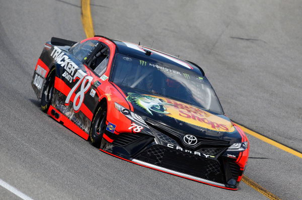 Monster Energy NASCAR Cup Series Toyota Owners 400 Richmond International Raceway, Richmond, VA USA Friday 28 April 2017 Martin Truex Jr, Furniture Row Racing, Bass Pro Shops/TRACKER BOATS Toyota Camry World Copyright: Matthew T. Thacker LAT Images ref: Digital Image 17RIC1mt1120