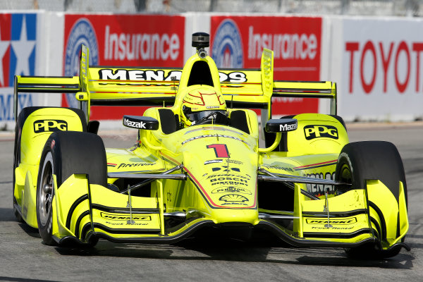 2017 Verizon IndyCar Series Toyota Grand Prix of Long Beach Streets of Long Beach, CA USA Sunday 9 April 2017 Simon Pagenaud World Copyright: Perry Nelson/LAT Images