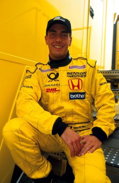 Marcel Lasee (GER) made his debut Formula One test with the Jordan team.Formula One Testing, Barcelona, Spain, 27-31 January 2002.