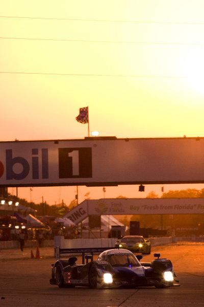 16-21 March, 2009, Sebring, Florida, USASebastien Bourdais Peugeot©2009, Michael L. Levitt, USALAT Photographic
