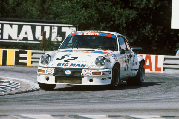 Le Mans, France. 12 - 13 June 1976 Raymond Touroul/Alain Cudini/RenŽ Boubet (Porsche Carrera RSR), 6th position, action. World Copyright: LAT PhotographicRef: 76LM43.
