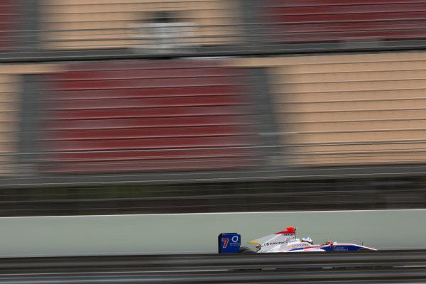 2016 Barcelona Testing. Circuit de Catalunya, Barcelona, Spain. Thursday 21st April. Giuliano Alesi (FRA, Trident). Action.  World Copyright: Alastair Staley/LAT Photographic. ref: Digital Image 585A7929