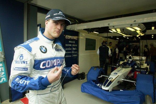 Ralf Schumacher (GER) Williams.Australian Grand Prix Practice, Albert Park, Melbourne, 1 March 2002DIGITAL IMAGE