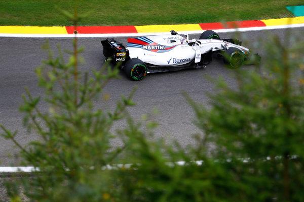 Spa Francorchamps, Belgium.  Saturday 26 August 2017. Felipe Massa, Williams FW40 Mercedes.  World Copyright: Steven Tee/LAT Images  ref: Digital Image _O3I1552
