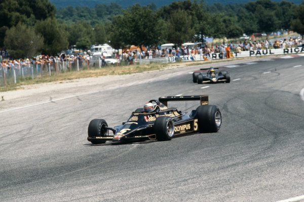 Paul Ricard, Le Catellet, France. 30th June - 2nd July 1978.