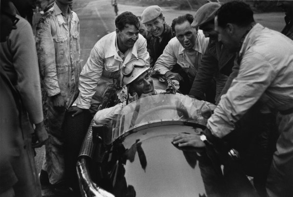 Snetterton, England. 13 August 1955.