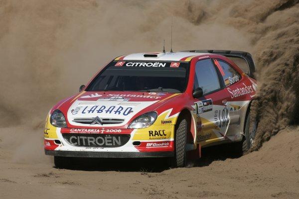 2006 FIA World Rally Champs. Round 6Rally Argentina. 27th-30th April 2006Daniel Sordo, Citroen, action.World Copyright: McKlein/LAT