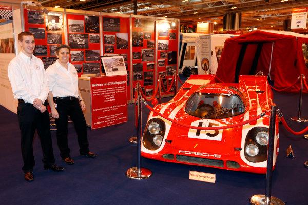 Autosport International Show NEC, Birmingham.  Thursday 10th January 2013. Porsche 917K on the LAT stand.  World Copyright:Andrew Ferraro/LAT Photographic ref: Digital Image _79P2907