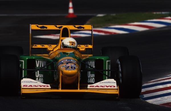 Martin Brundle (GBR) Benetton B192, 4th place. German Grand Prix, Hockenheim, 26 July 1992