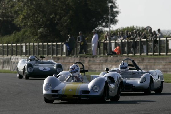 2006 Goodwood Revival Meeting. Goodwood, West Sussex. 2nd - 3rd September 2006 Madgewick Cup.Simon Hadfield holds off Anthony Taylor.World Copyright: Gary Hawkins/LAT Photographic ref: Digital Image Only
