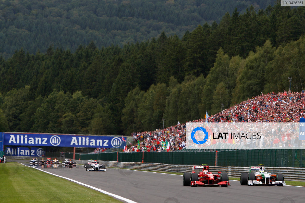 2009 Belgian Grand Prix - Sunday