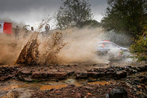 2017 FIA World Rally Championship, Round 03 , Rally Mexico, February 08-12, 2017, Dani Sordo, Hyundai, Action, Worldwide Copyright: McKlein/LAT