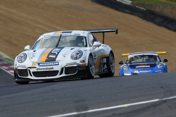2017 Porsche Carrera Cup GB Brands Hatch, 1st-2nd April 2017 Tio Ellinas  World Copyright. JEP/LAT Images