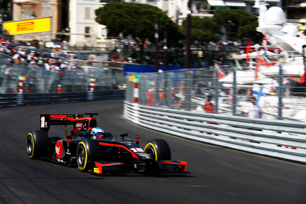 2017 FIA Formula 2 Round 3. Monte Carlo, Monaco. Saturday 27 May 2017. Nyck De Vries (NED, Rapax)  Photo: Zak Mauger/FIA Formula 2. ref: Digital Image _X4I9557