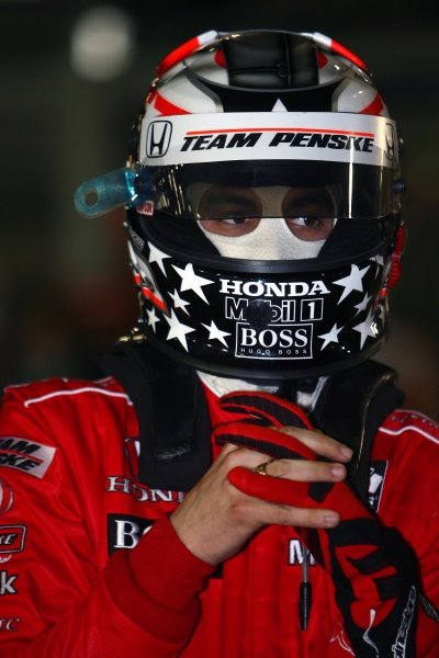 Sam Hornish Jr (USA), Team Penske.