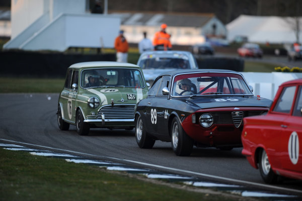 2016 74th Members Meeting Goodwood Estate, West Sussex,England 19th - 20th March 2016 Race 11 Whitmore Cup Nick SWift Mini Andrew Banks Alfa World Copyright : Jeff Bloxham/LAT Photographic Ref : Digital Image