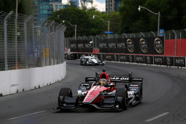 Verizon IndyCar Series Honda Indy Toronto Toronto, ON CAN Sunday 16 July 2017 Sebastian Saavedra, Schmidt Peterson Motorsports Honda World Copyright: Phillip Abbott LAT Images ref: Digital Image abbott_toronto_0717_7033