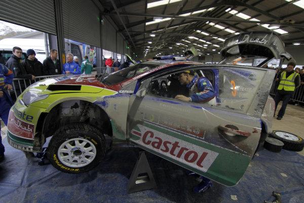 Round 13Wales Rally GB 11-14 October 2010Mikko Hirvonen Ford WRC, PortraitWorldwide Copyright: McKlein/LAT