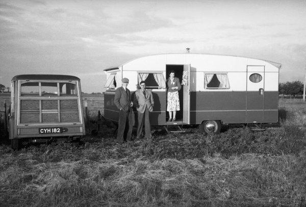 Silverstone, Great Britain. 14 July 1951.Bill Boddy, Editor of MotorSport magazine, portrait. World Copyright: LAT Photographic.Ref:  51 - 38 - 37