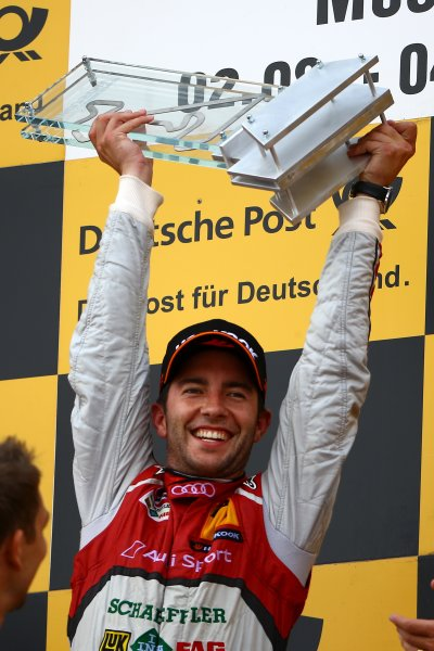 Round 6 - Moscow Raceway, Moscow, Russia  3rd - 4th August 2013  Winner Mike Rockenfeller (GER) Audi Sport Team Phoenix Racing Audi A5 DTM World Copyright: XPB Images / LAT Photographic  ref: Digital Image 2774651_HiRes