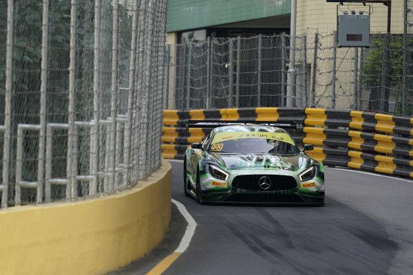 #999 Mercedes-AMG Team GruppeM Racing Mercedes AMG GT3: Raffaele Marciello.