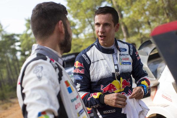 Julien Ingrassia, Ford M-Sport, Ford Fiesta WRC 2018