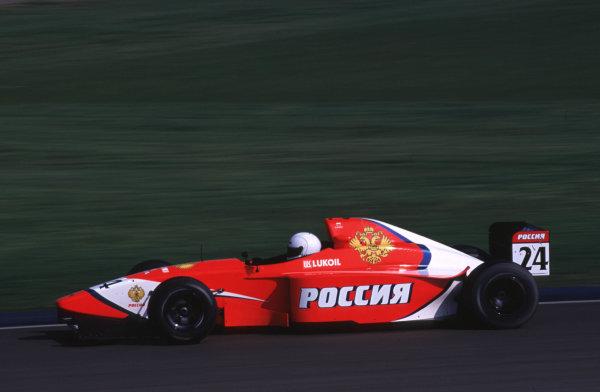 Silverstone, England. 22-23/3/2000. Viktor Maslov. Arden Racing. World - LAT Photographic
