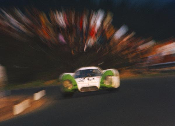 Jo Siffert / Kurt Ahrens Jr, Karl Freiherr v. Wendt, Porsche 917 009.