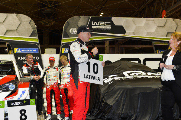 The 2019 WRC season is launched.