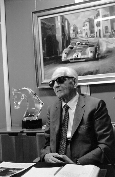 1983 Enzo Ferrari.