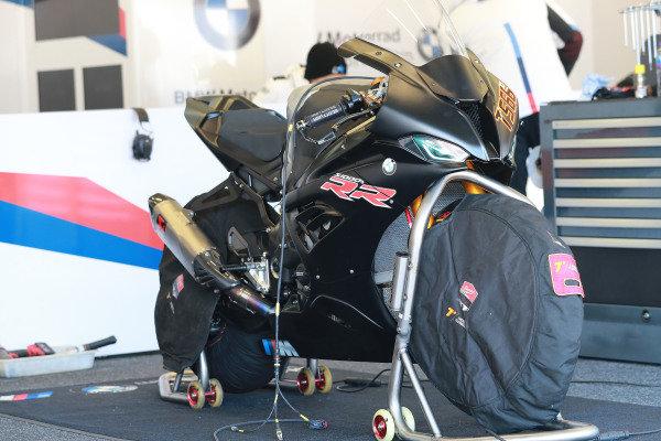 Bike of Markus Reiterberger, BMW Motorrad WorldSBK Team.