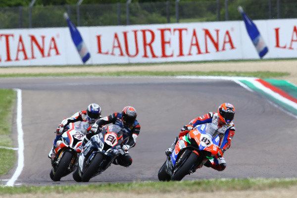 Lorenzo Zanetti, Ducati, Jordi Torres, Team Pedercini, Markus Reiterberger, BMW Motorrad WorldSBK Team.
