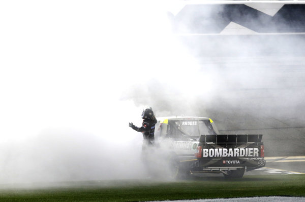 #99: Ben Rhodes, ThorSport Racing, Toyota Tundra Bombardier LearJet 75