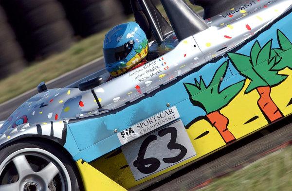 2003 FIA Sportscar ChampionshipNogaro, France. 20th - 21st September 2003.Picard/Favre/ Fargier (Lucchini), action.World Copyright: John Brooks/LAT Photographicref: Digital Image Only