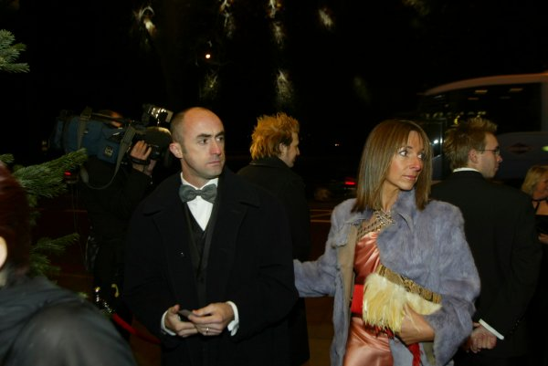 2003 AUTOSPORT AWARDS, The Grosvenor, London. 7th December 2003.David Brabham arrives at the Awards.Photo: Peter Spinney/LAT PhotographicRef: Digital Image only