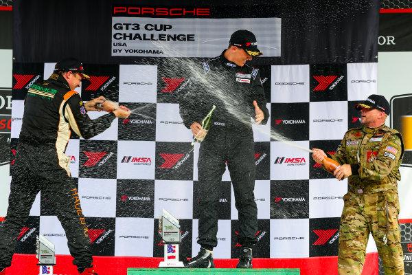 21-23 August 2015, Alton, Virginia USA GT3 Cup USA, Race 2, Gold Podium ?2015, Jake Galstad LAT Photo USA