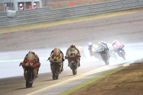 2017 Moto3 Championship - Round 15 Motegi, Japan. Sunday 15 October 2017 Bo Bendsneyder, Red Bull KTM Ajo World Copyright: Gold and Goose / LAT Images ref: Digital Image 22671