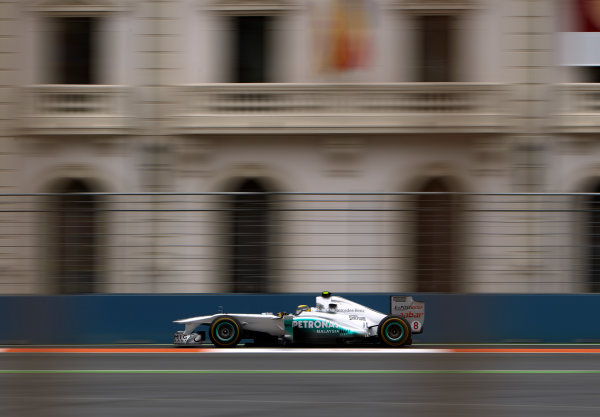 Valencia Street Circuit, Valencia, Spain