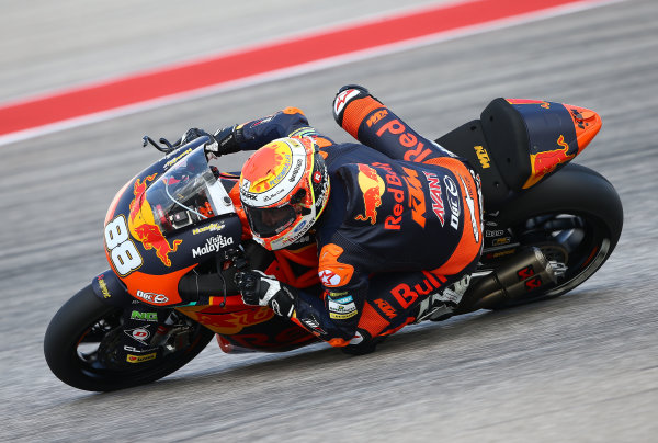 2017 Moto2 Championship - Round 3 Circuit of the Americas, Austin, Texas, USA Friday 21 April 2017 Ricard Cardus, Red Bull KTM Ajo World Copyright: Gold and Goose Photography/LAT Images ref: Digital Image Moto2-500-2155