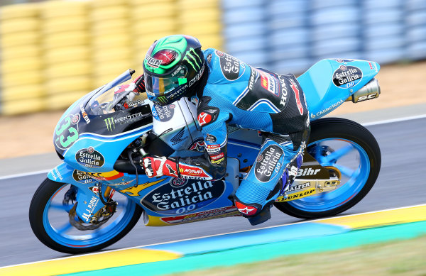 2017 Moto3 Championship - Round 5 Le Mans, France Saturday 20 May 2017 Enea Bastianini, Estrella Galicia 0,0 World Copyright: Gold & Goose Photography/LAT Images ref: Digital Image 671094