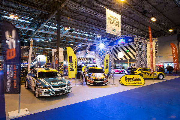 Autosport International Exhibition. National Exhibition Centre, Birmingham, UK. Friday 13 January 2017. Wales Rally GB Feature Photo: Sam Bloxham/LAT Photographic ref: Digital Image _SLB4768